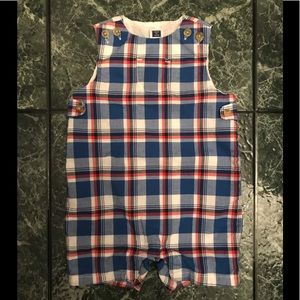 Janie and Jack Boy Romper